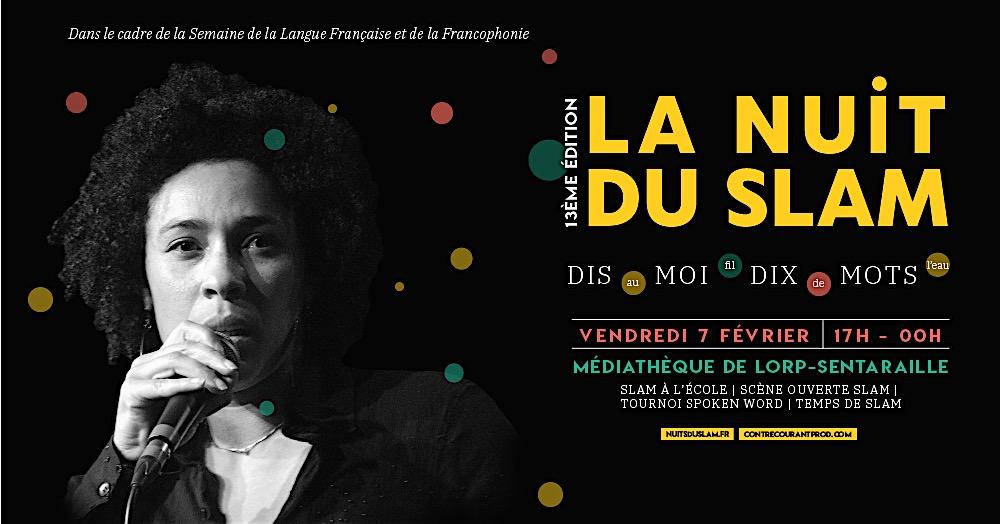 Lorp-Sentaraille – La nuit du Slam – 7 février