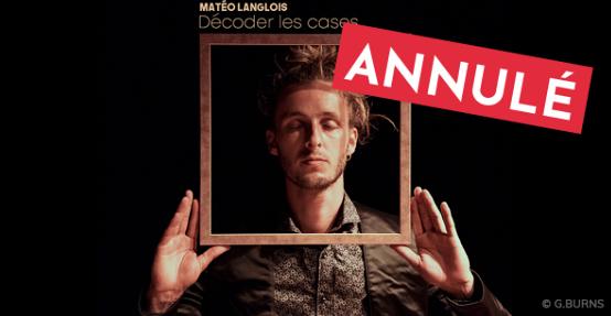 Sainte-Croix-Volvestre : Matéo Langlois en concert – 24 octobre – ANNULE